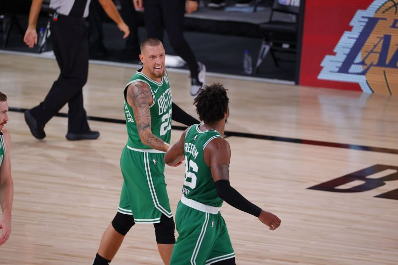 Marcus Smart and Daniel Theis are the only available regular starters for the Boston Celtics.