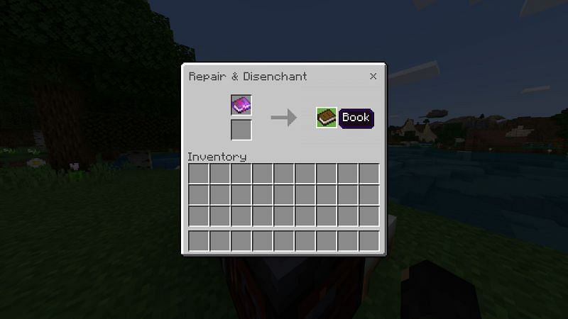 Enchantment books in Minecraft