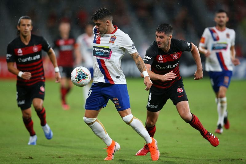 Newcastle Jets take on Western Sydney Wanderers this week