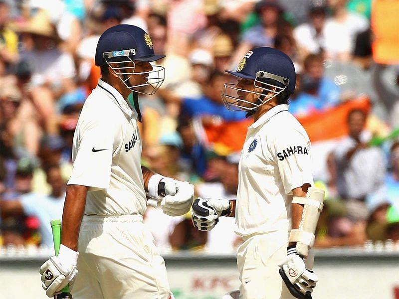 Rahul Dravid and Sachin Tendulkar were the heart of the Indian batting