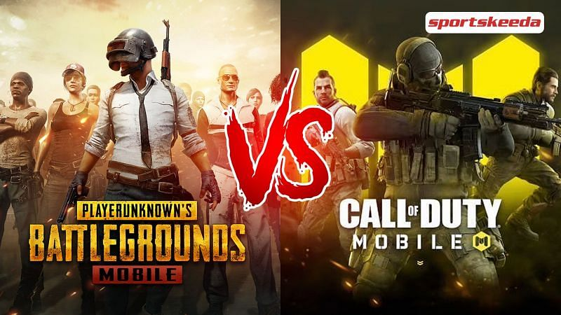 Comparing the storage sizes of the two popular BR games (Image via Sportskeeda)