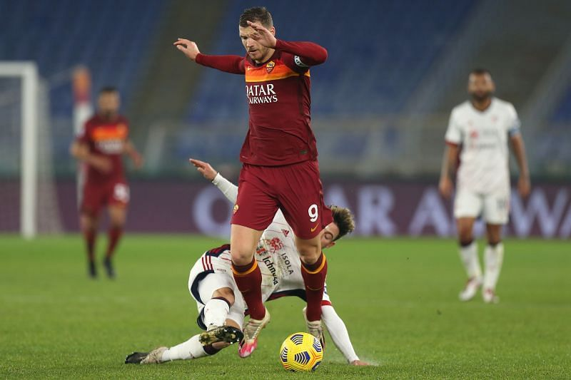 Edin Dzeko can function in a variety of positions