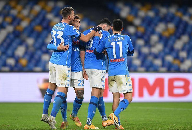 Napoli play Fiorentina on Sunday