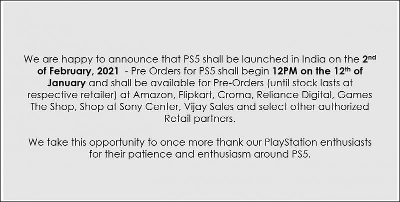 Image via PlayStation India, Twitter