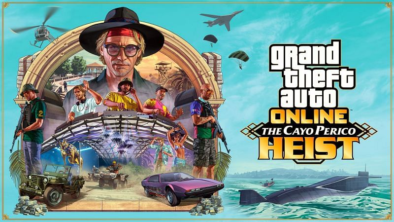 The biggest addition to GTA Online has been the Cayo Perico Island (Image via Rockstar Games)