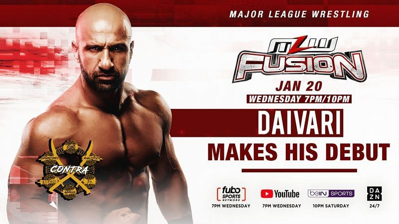 Daivari debuts on MLW Fusion