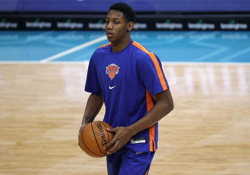 RJ Barrett could lead the New York Knicks to victory