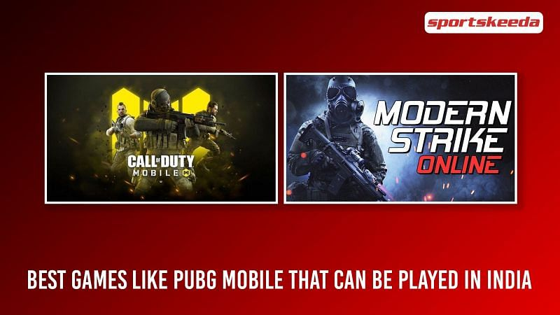 Best games like PUBG Mobile available in India