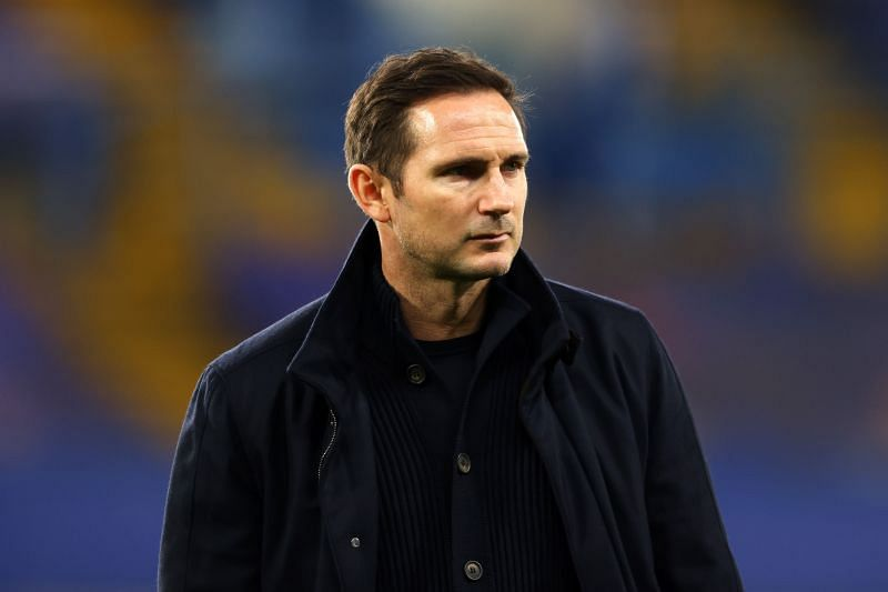 Chelsea manager Frank Lampard is under pressure