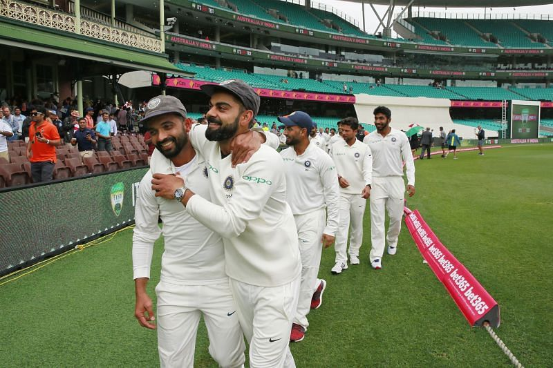 Ajinkya Rahane and Virat Kohli are the only Indian captains to win two Tests in Australia