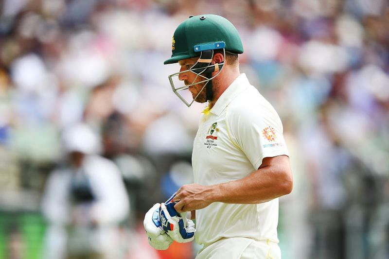 Aaron Finch last played a Test match in December 2018