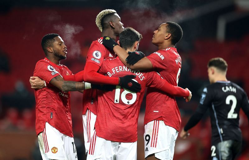 Manchester United are in a rich run of form