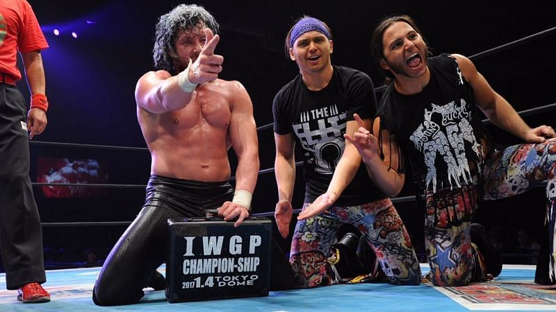 Kenny Omega and The Young Bucks are the OG Elite trio.