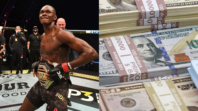 Israel Adesanya is one of the UFC