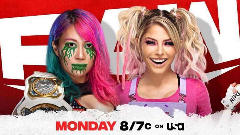 On the final WWE RAW before the Royal Rumble, Asuka will defend the RAW Women