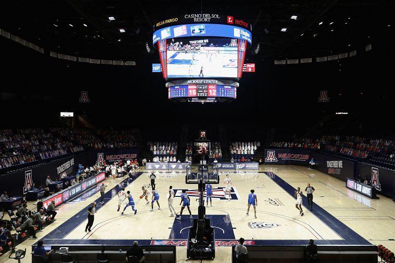 UCLA vs Arizona NCAA basketball game