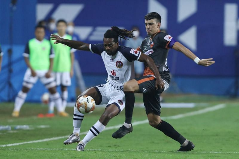 Jacques Maghoma is the highest scorer for SC East Bengal in ISL 2020-21. (Image: ISL)
