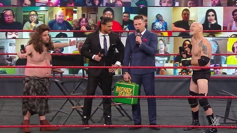 RAW में द मिज और जॉन मॉरिसन ने गोल्डबर्ग और मैकइंटायर का मजाक उड़ाया