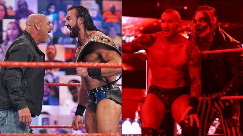 Drew McIntyre and Randy Orton