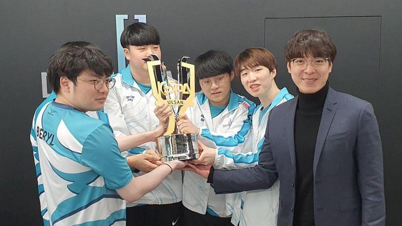 DAMWON Gaming win League of Legends KeSPA Cup 2020 (Image via KeSPA)