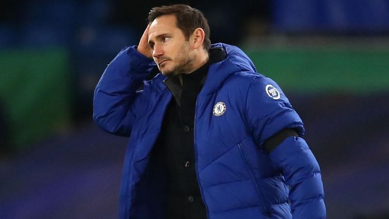 Rumors claim Chelsea boss Frank Lampard will face the sack
