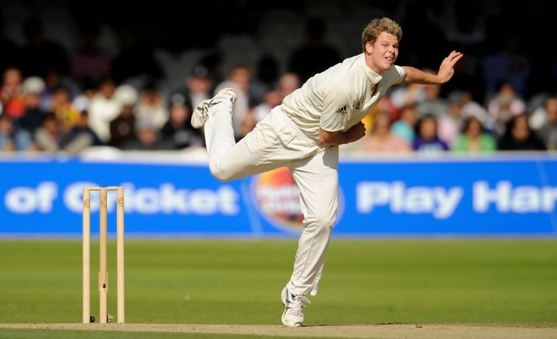 Steve Smith made his way into the Australian team as a leg-spinner who could bat a bit.