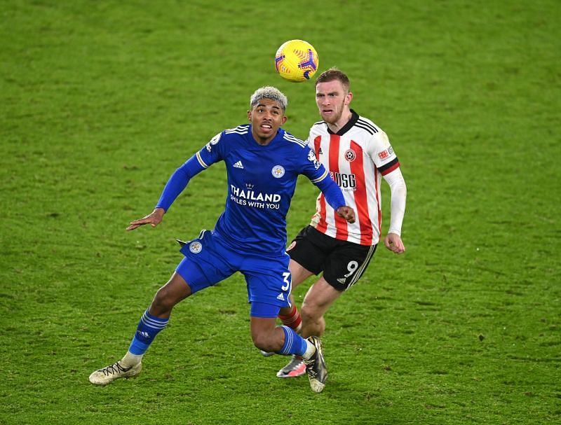 Fofana in action for the Foxes