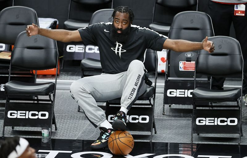 James Harden, the newest member of the Brooklyn Nets