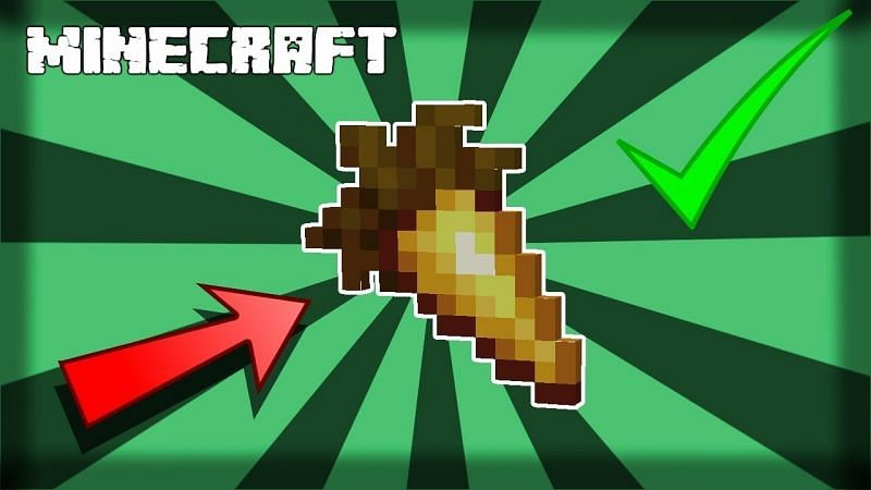 A golden carrot in Minecraft. (Image via Stingray Productions/YouTube)