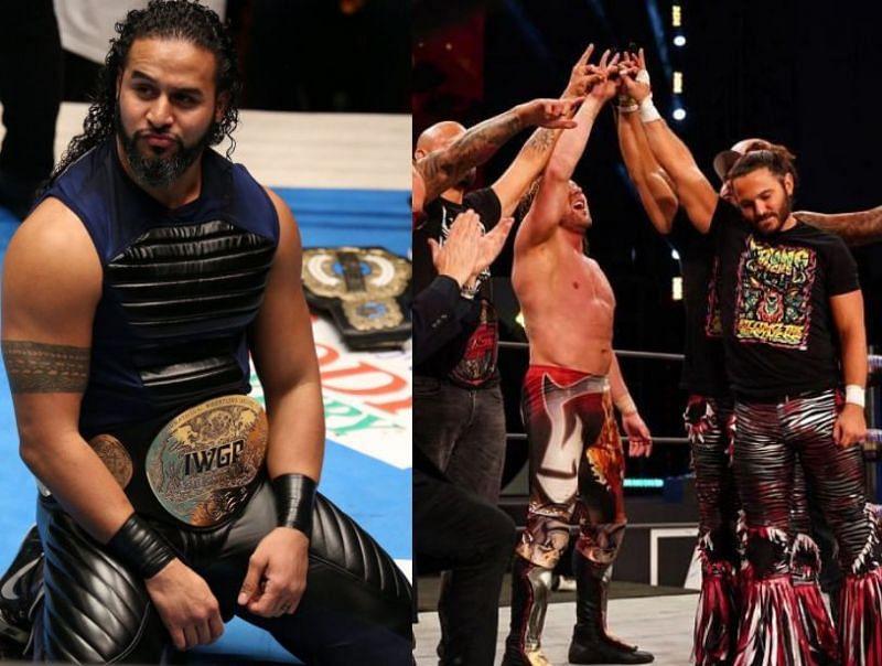 Tama Tonga has a message for The Elite.