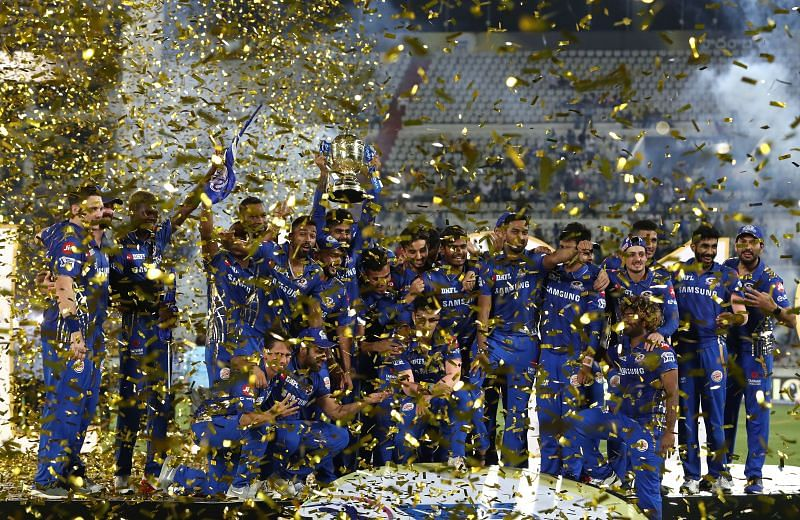 The Mumbai Indians are the defending champions in the IPL