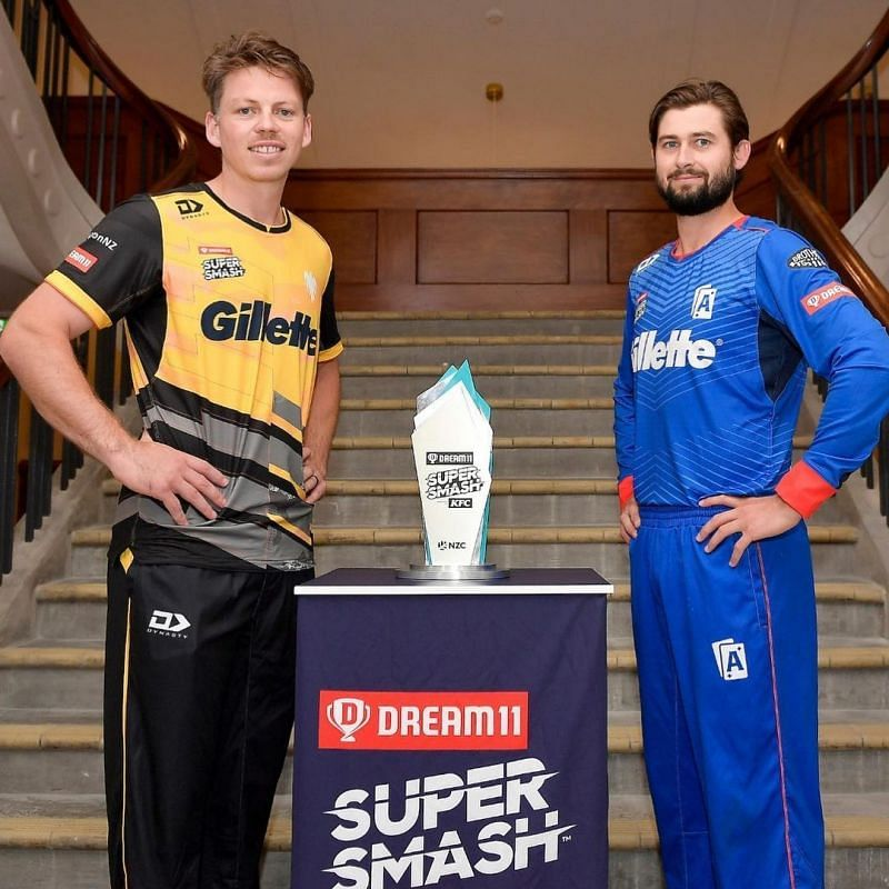 The Super Smash T20 trophy (Credits: super smash.co.NZ)