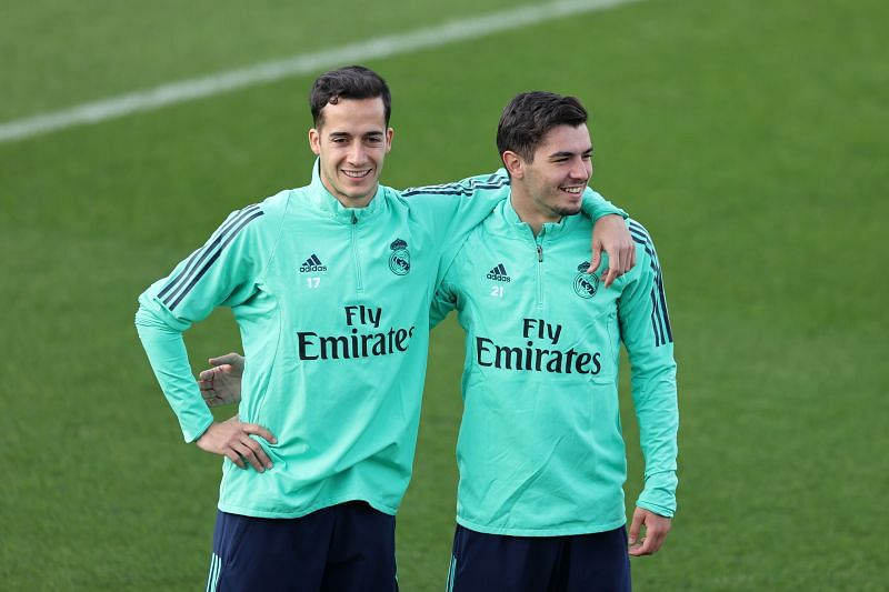 Lucas Vazquez and Brahim Diaz spent a season together at Real Madrid.