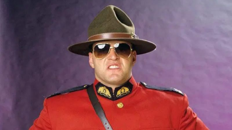 Jacques Rougeau performed as The Mountie in WWE