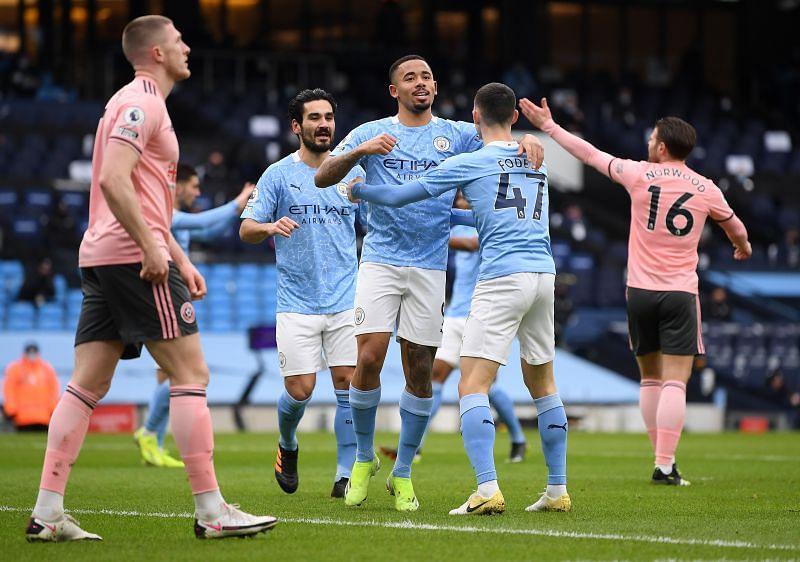 Manchester City vs Sheffield United - Premier League