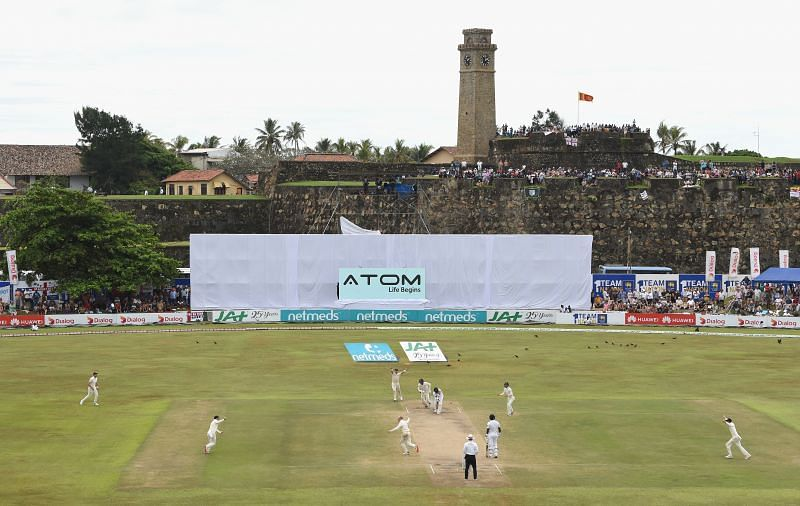 Galle International Stadium will host both games of the ICC World Test Championship series between Sri Lanka and England