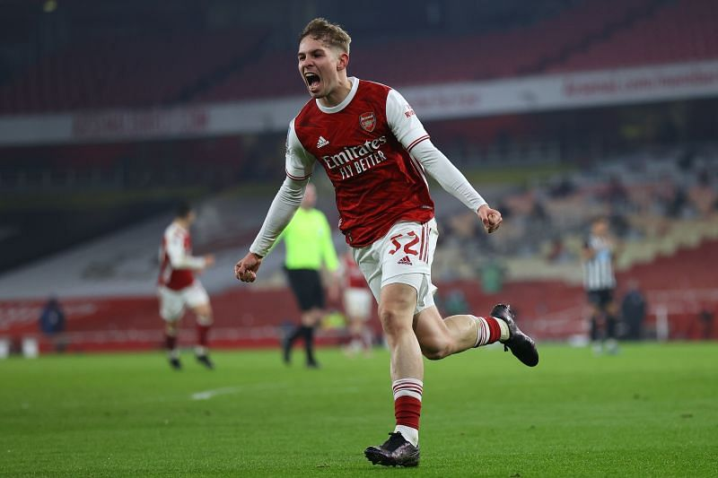 Emile Smith-Rowe has shone for Arsenal since being introduced into the starting line-up