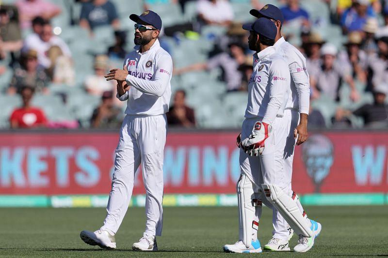 Virat Kohli captained India in the Adelaide Test