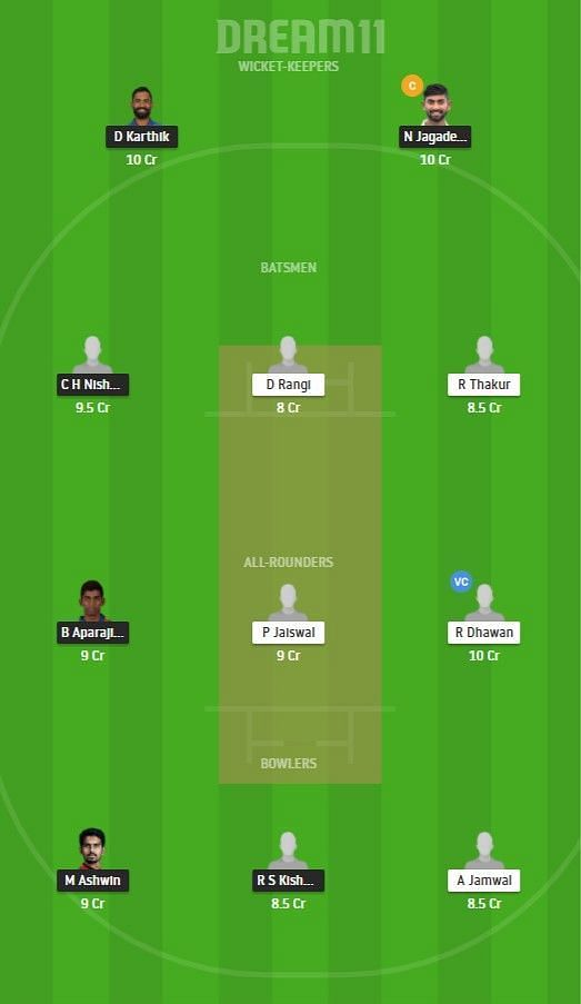 TN vs HIM Dream11 Tips