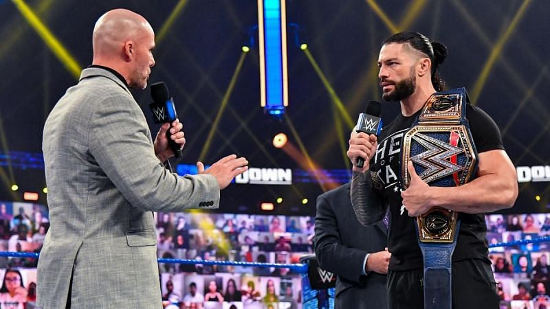 Adam Pearce has a message for Roman Reigns before WWE SmackDown