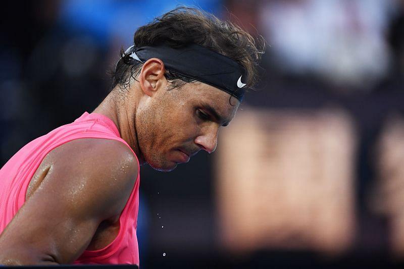 Rafael Nadal at the 2020 Australian Open