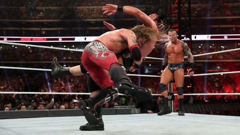 Edge will look to get back at Randy Orton