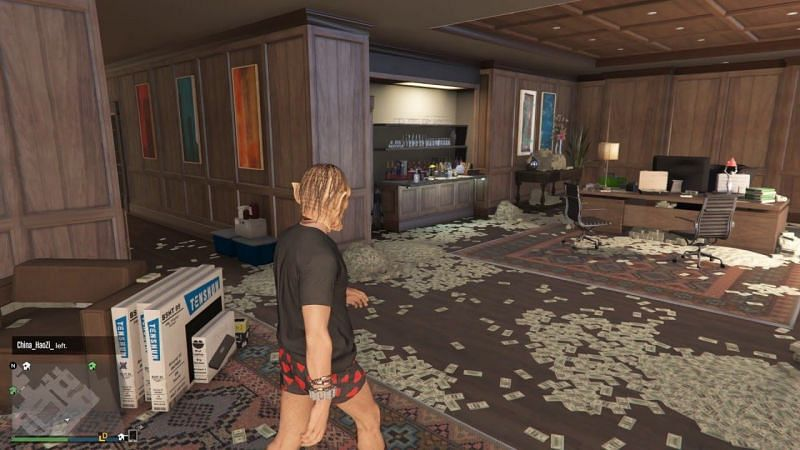 Offices have multiple uses in GTA Online (Image via MY-INFO)