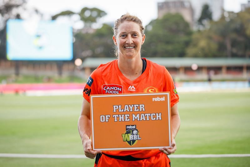 Sophie Devine scored the fastest ever ton by a woman in T20 cricket