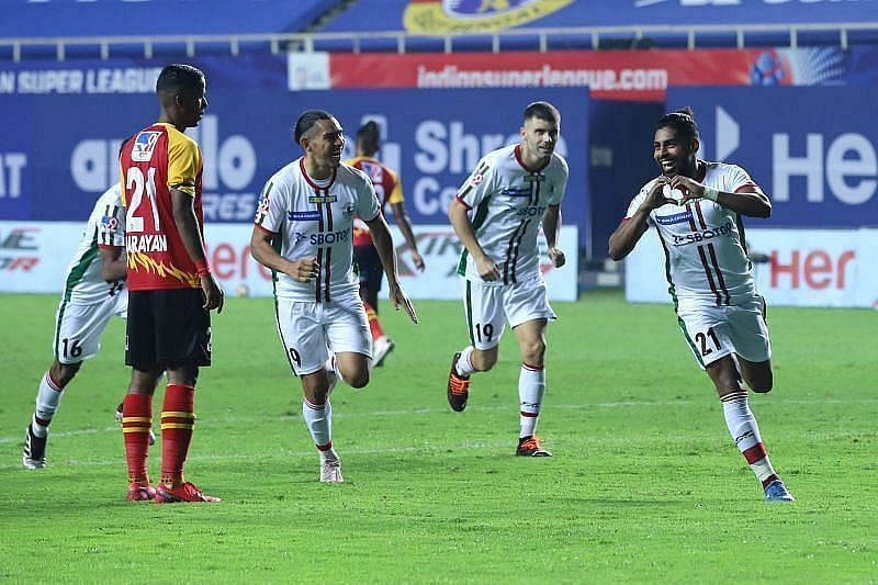 ATK Mohun Bagan are just five points away from the top spot (Courtesy - ISL)
