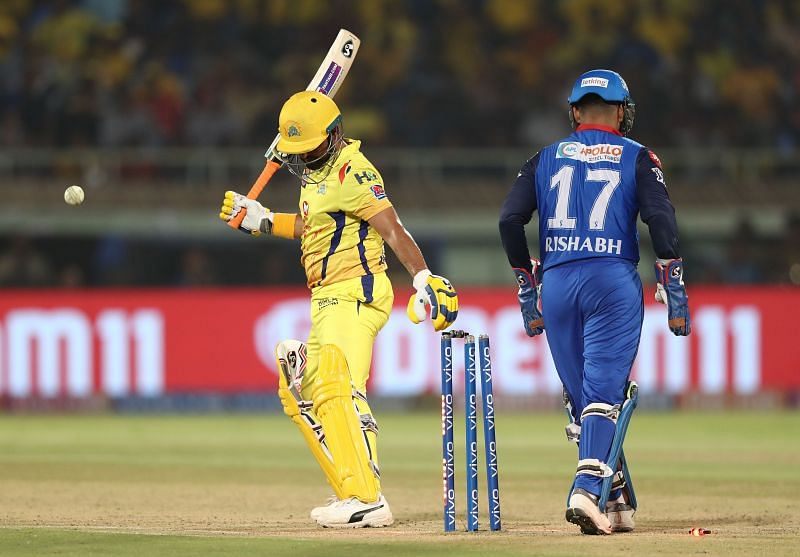 Raina last played for CSK in 2019