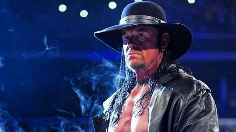 The Undertaker is a dominating presence in WWE