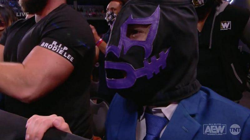 Brodie Lee Jr. appeared on AEW Dynamite