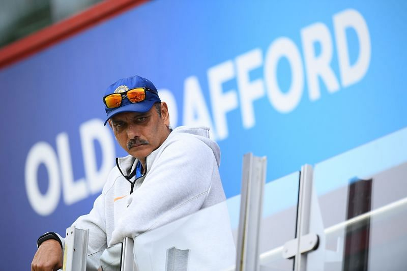 Ravi Shastri played a patient innings against South Africa in 1992