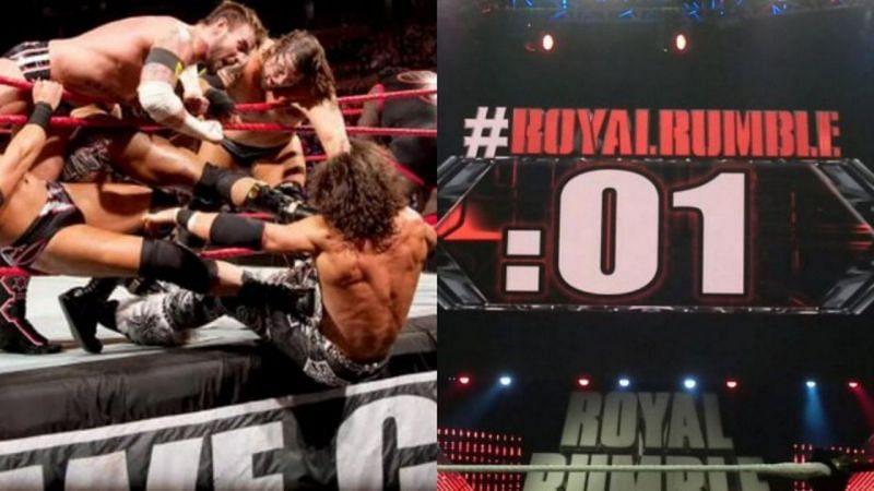 मेंस Royal Rumble मैच